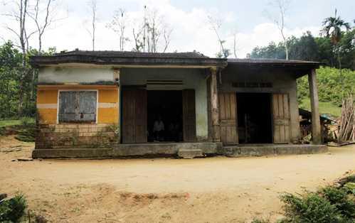 Ngôi nhà, nơi anh Nam, chị Lạc cùng 15 người con sinh sống