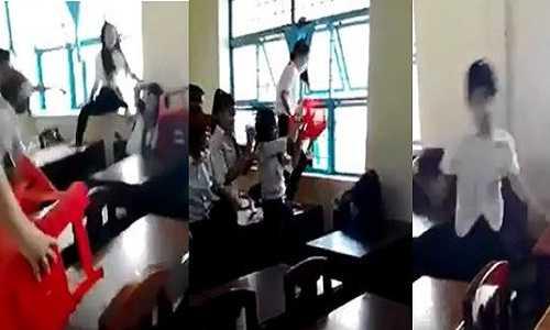 Lớp trưởng tham gia vào vụ đánh bạn có thể bị đuổi học