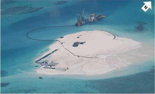 Hoạt động cải tạo đất phi pháp của Trung Quốc trên bãi Gạc Ma ở quần đảo Trường Sa, Việt Nam