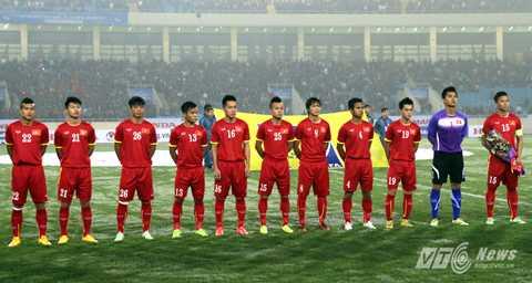 U23 Việt Nam quyết giành kết quả khả quan trên sân Thống Nhất                (Ảnh: Quang Minh)