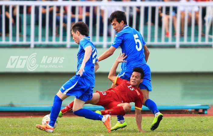 U23 Việt Nam đang dần tiến bộ (Ảnh: VSI)