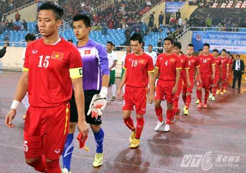 U23 Việt Nam sẽ tìm cách kiểm soát thế trận theo ý mình (Ảnh: Quang Minh)
