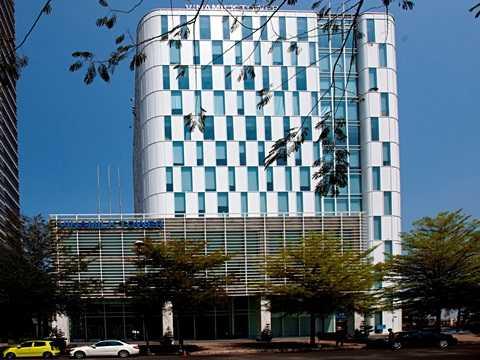 Trụ sở làm việc của Vinamilk tọa lạc tại đường Tân Trào, Quận 7, TP.Hồ Chí Minh