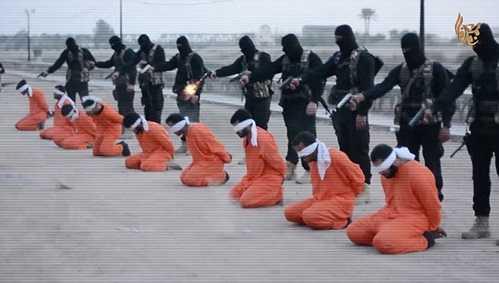 9 tù nhân bị xử tử bằng cách bắn vào đầu