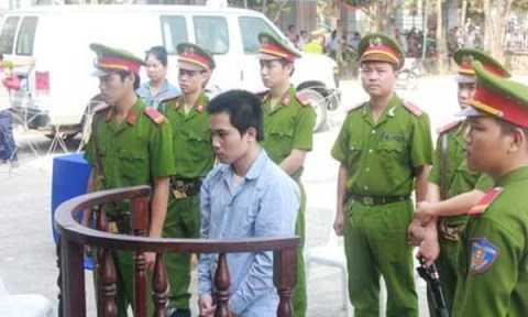 Đoàn Minh Sơn tại phiên tòa sơ thẩm