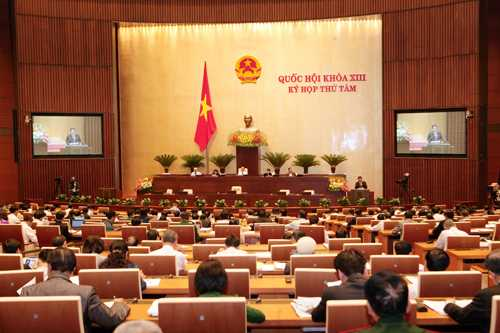 Kỳ họp thứ 8 Quốc hội khóa XIII