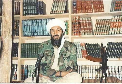 Một trong những bức ảnh mới được tiết lộ về nơi ẩn nấp của trùm khủng bố Bin Laden