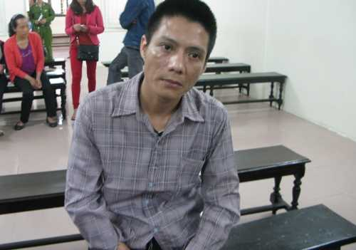 Bị cáo Nguyễn Xuân Danh tại phiên tòa