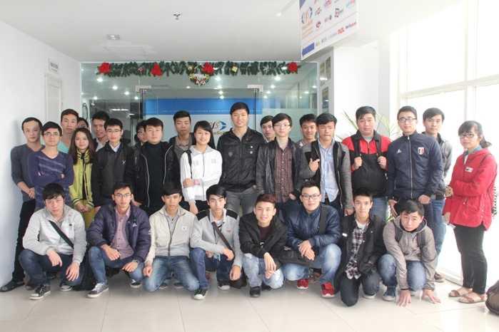 Các bạn sinh viên Aprotrai Aptech đã có một buổi tham quan bổ ích