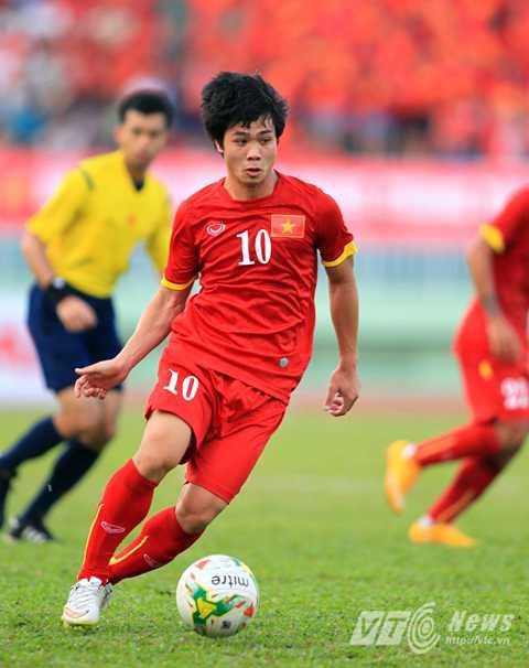 Công Phượng vẫn đang loay hoay ở U23 Việt Nam (Ảnh: VSI)