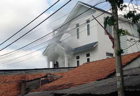 Nhiều tài sản trong căn nhà bị cháy bị thiêu rụi hoàn toàn