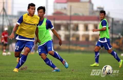 Thanh Hiền là cầu thủ có nhiều kinh nghiệm nhất U23 Việt Nam (Ảnh: Quang Minh)