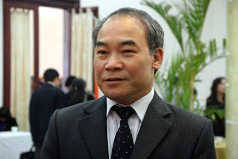 Thứ trưởng Nguyễn Vinh Hiển                (Ảnh: Phạm Thịnh)