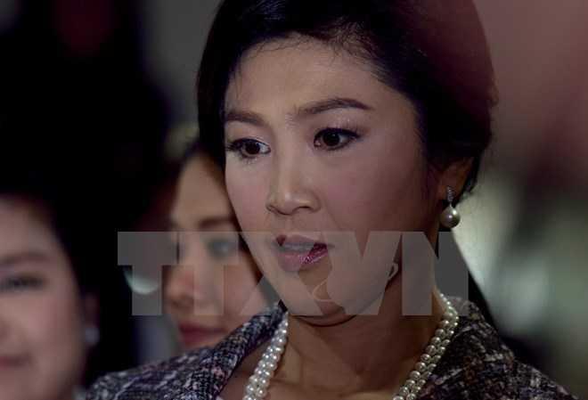 Cựu Thủ tướng Yingluck Shinawatra (Nguồn: AFP/TTXVN)