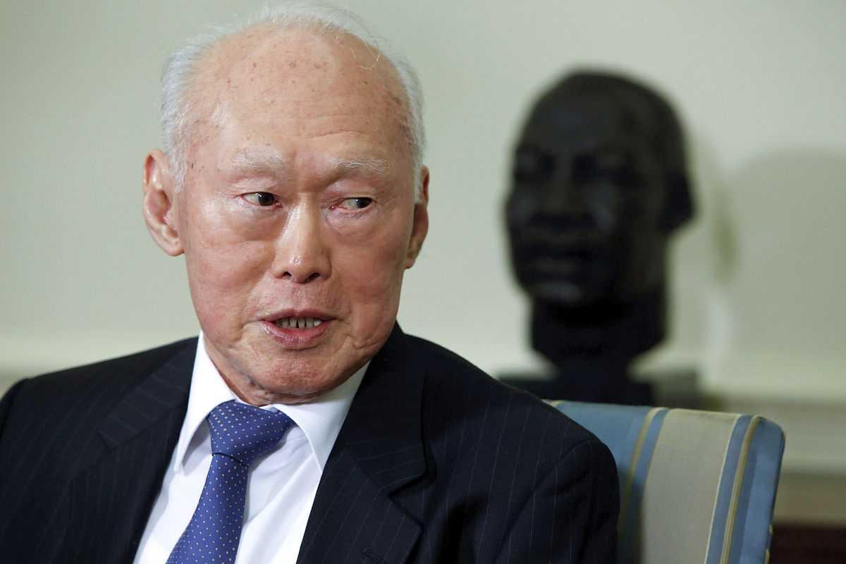 Cố Thủ tướng Singapore Lý Quang Diệu