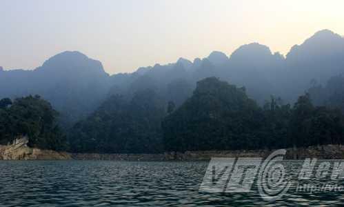 Một góc rừng phòng hộ ở Lâm Bình