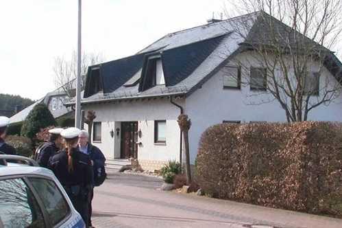 Ngôi nhà được cho là của  Lubitz ở Đức