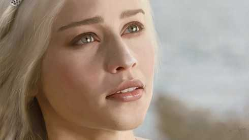 Emilia Clarke đẹp tựa nữ thần trong 'Game of Thrones'.