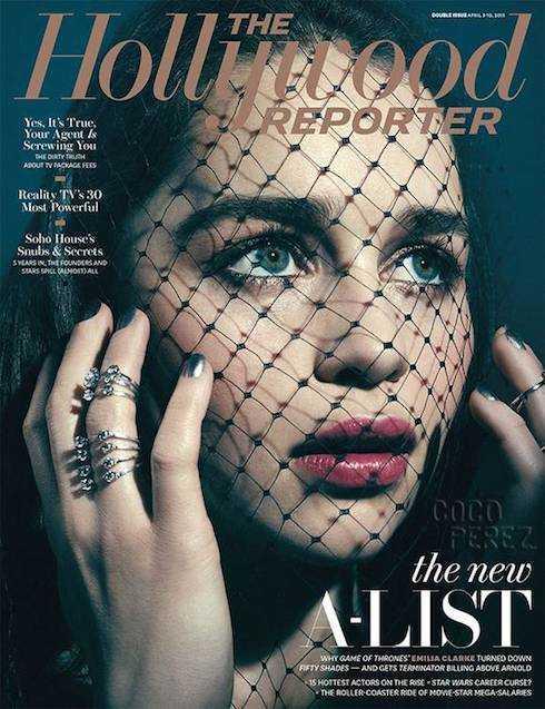 Vẻ quyến rũ của Emilia Clarke.