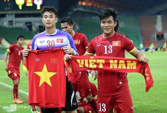 U23 VN hân hoan chiến thắng