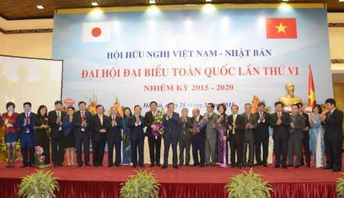 Ra mắt Ban Chấp hành Hội Hữu nghị Việt Nam - Nhật
