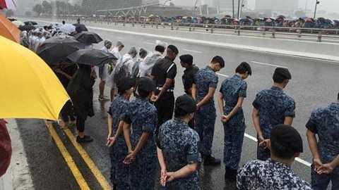 Quang cảnh lễ tang cố Thủ tướng Lý Quang Diệu - Ảnh:Straistimes