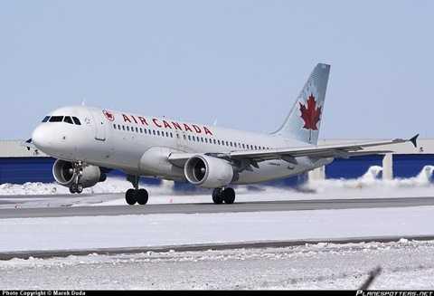 Máy bay của hãng Air Canada bị trượt khỏi đường băng - Ảnh minh họa