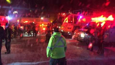 Lực lượng cứu hộ khẩn cấp của Canada tại sân bay
