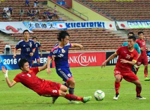 U23 Việt Nam đã thi đấu đầy quả cảm (Ảnh: Zing.vn)