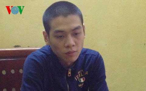 Nguyễn Xuân Hiếu tại cơ quan điều tra