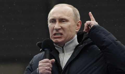 Tổng thống Nga Putin bị cáo buộc