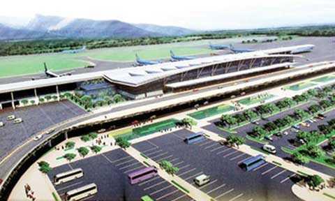 Sơ đồ quy hoạch tổng thể Cảng hàng không Quảng Ninh