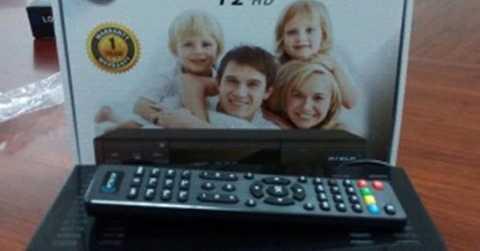 Đầu thu số DVB-T2 lậu được rao bán trên vatgia.com ngày 30/3/2015.