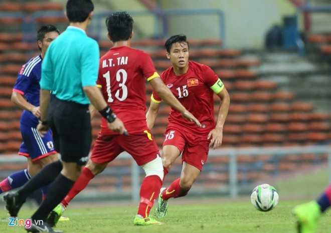 U23 Việt Nam thất bại trước U23 Nhật Bản