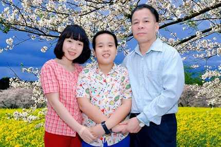 Đỗ Nhật Nam được dạy cách yêu thương gia đình