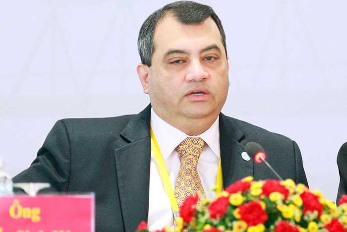 Chủ tịch Liên minh Nghị viện Thế giới Saber Chowdhury