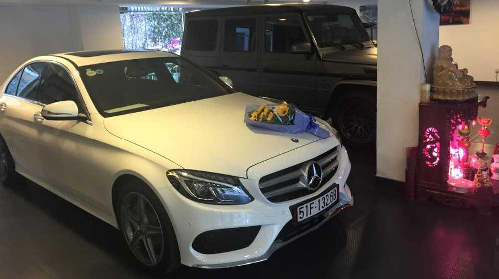 Mercedes C250 AMG của Cường đô la