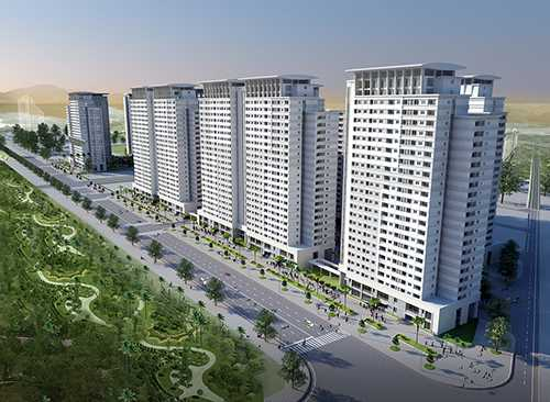 """Park View Residence nằm ngay mặt đường Lê Văn Lương kéo dài, vị trí """"độc tôn"""" trong 10 tòa của cụm chung cư CT7"""
