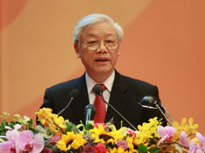 Tổng Bí thư Nguyễn Phú Trọng. Ảnh: Mạnh Hùng