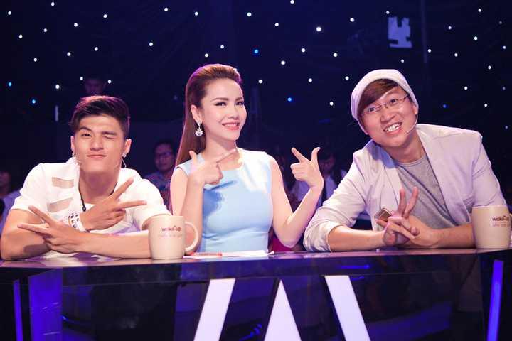 Yến Trang cùng Lâm Vinh Hải, nhạc sỹ Sĩ Luân ngồi ghế nóng của gameshow mới mang tên 'Sao là Sao '