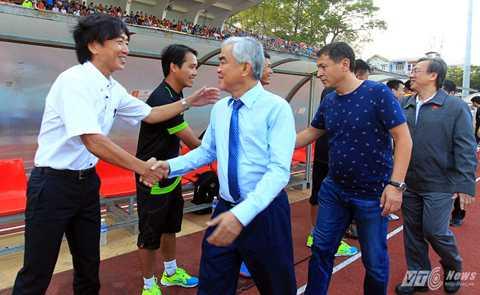 Miura giống như đại sứ của bóng đá Nhật tại Việt Nam (Ảnh: VSI)