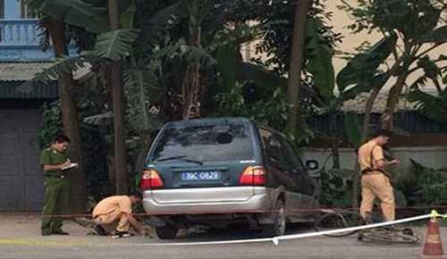 Hiện trường vụ tai nạn. Ảnh: Dân Việt