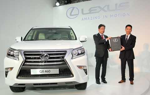 Toyota hiện lắp ráp 5 và phân phối 12 mẫu xe tại thị trường Việt Nam