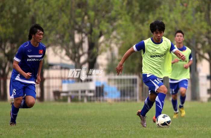 Công Phượng và Tuấn Anh ở U23 Việt Nam