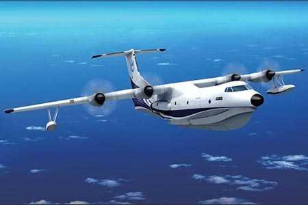 Hình ảnh thiết kế của thủy phi cơ AG-6000