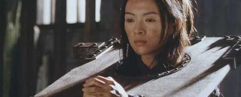 Tiểu Muội (Chương Tử Di) trong bộ phim điện ảnh Thập diện mai phục.