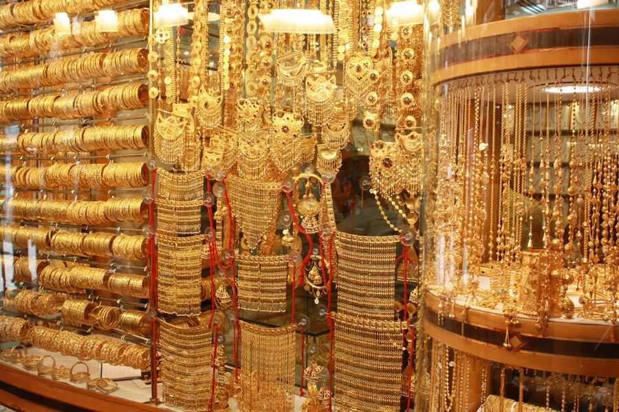 Chợ vàng Gold Souk tại Dubai