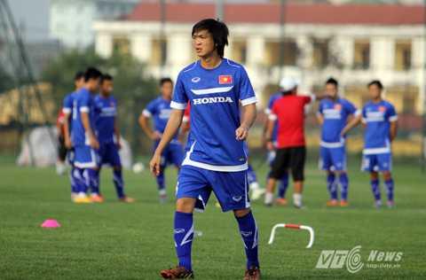 Tuấn Anh trong màu áo U23 Việt Nam (Ảnh: Quang Minh)