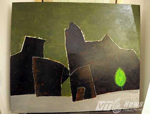 Tác phẩm 'Cây của phố' của họa sỹ Tào Linh