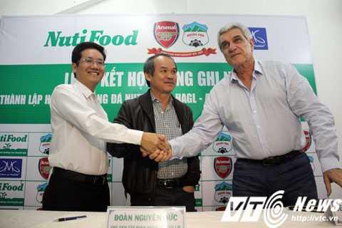 Nutifood tham vọng cùng HAGL xây dựng thêm 1 học viện bóng đá trẻ
